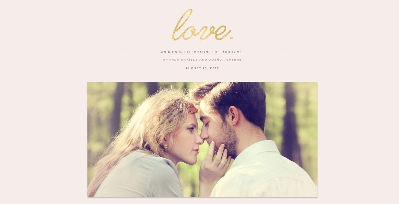Γαμήλιο Website για Μελλόνυμφους