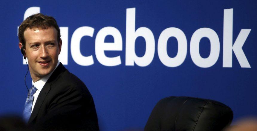 zuckerberg facebook blue